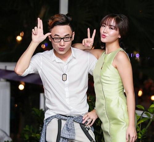 Văn Mai Hương đón sinh nhật bên 4 hot boy nhạc Việt - 9