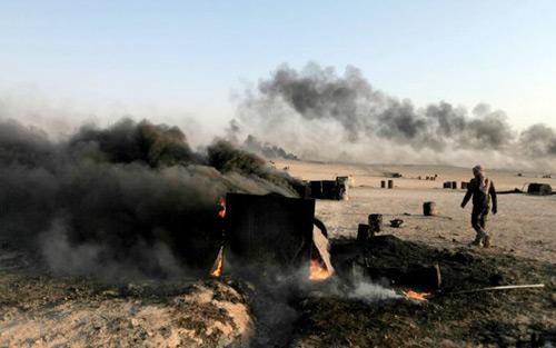 Sau khi bị không khích, phiến quân IS hung tợn hơn? - 1