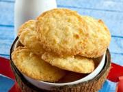 Ẩm thực - Cách làm bánh quy dừa tuyệt ngon