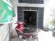 An ninh Xã hội - Người đàn ông chết cháy bên chiếc xe dính máu