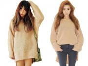 Thời trang - Sành điệu và biến hóa với áo len dáng rộng mùa này
