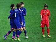 Video bàn thắng - ĐT nữ Việt Nam - Nhật Bản: Nỗ lực đáng khen