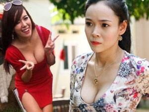"""Nữ diễn viên hài Việt sexy """"lấp tiếng cười"""""""