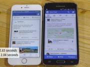 iPhone 6 đọ tốc độ với Samsung Galaxy S5