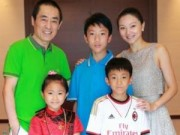 Phim - Vợ trẻ và 3 người con của Trương Nghệ Mưu lần đầu lộ diện