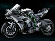 Ô tô - Xe máy - Siêu mô tô nhanh nhất Kawasaki Ninja H2 xuất hiện
