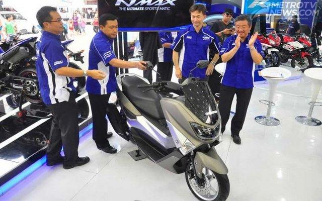 Yamaha NMAX phiên bản mới giá 38 triệu đồng ra mắt