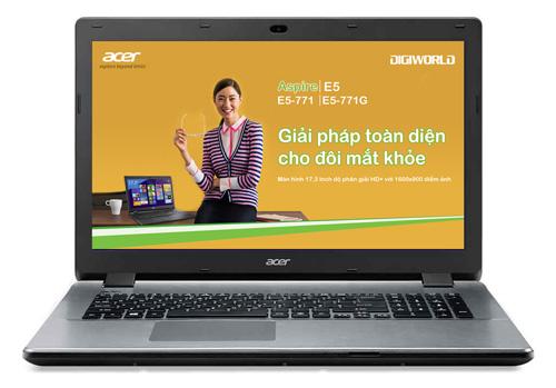 Laptop 17 inch thay thế máy tính để bàn - 1