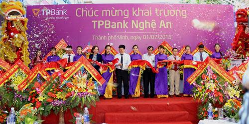 TPBank khai trương chi nhánh tại Nghệ An - 1