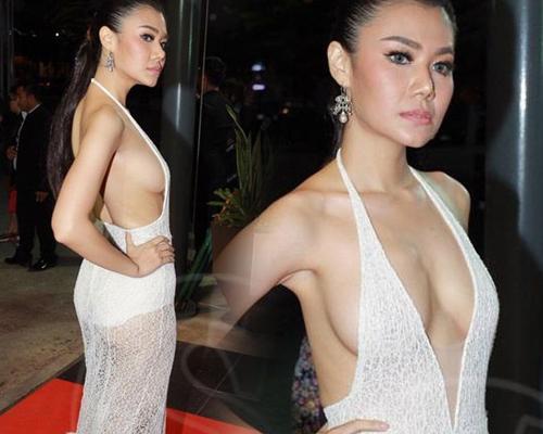 """Dàn sao Thái Lan mang """"thảm họa"""" váy áo lên thảm đỏ - 2"""