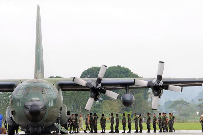 """142 người chết thảm, Indonesia """"soi"""" đội bay C-130 - 2"""