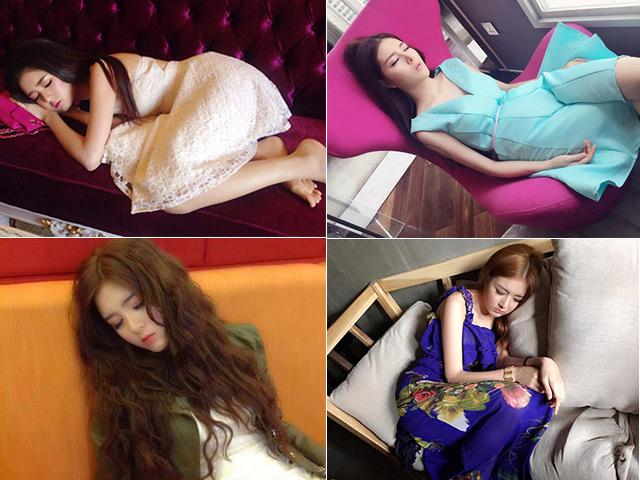 Hot girl Lilly Luta ngủ vẫn rất xinh đẹp - 1