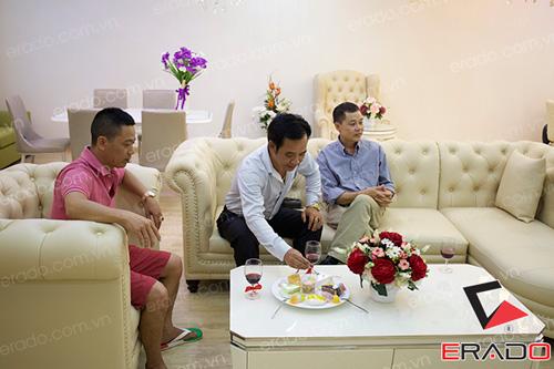 Quang Tèo, Bình Trọng rủ nhau đi dự khai trương nội thất Erado - 4