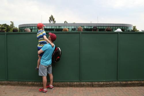 """Wimbledon ngày 3: Tạm biệt """"hoa khôi"""" - 9"""