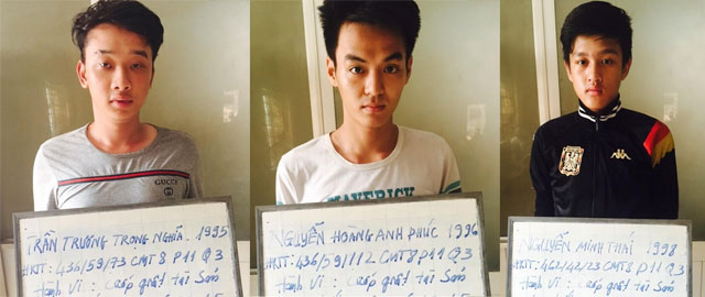 Băng cướp ngày ở Sài Gòn sa lưới - 1
