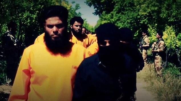 Chiến binh IS bị kẻ thù hành quyết tập thể - 1