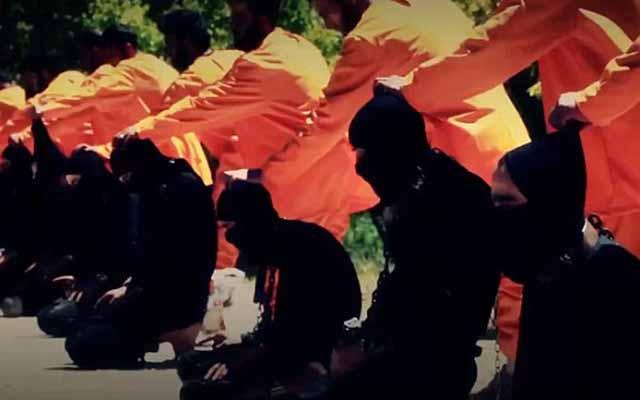 Chiến binh IS bị kẻ thù hành quyết tập thể - 2