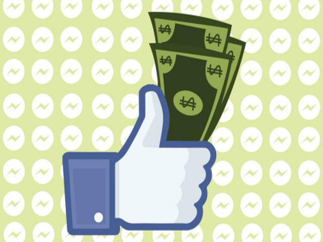Gửi tiền qua Facebook Messenger đã xuất hiện tại Mỹ