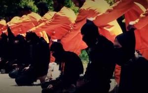 Chiến binh IS bị kẻ thù hành quyết tập thể