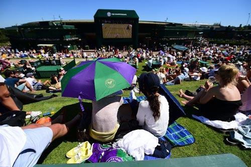 Wimbledon: Khán giả tá hỏa vì cháy SVĐ trung tâm - 5