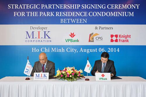 VPBank đồng hành cùng các dự án của M.I.K Corporation - 1