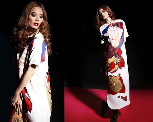 Người mẫu Hoàng Oanh khoe trọn vai thon, lưng trần - 6