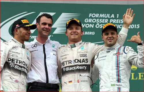 British GP 2015: Áp lực phải thắng của Hamilton - 3