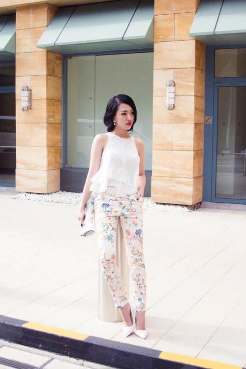 Joxy Thùy Linh khoe bộ ảnh mới trong chuyến công tác tại Singapore - 11