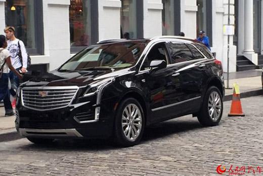 Lộ ảnh thực tế của Cadillac SUV XT5 mới - 1
