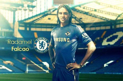 """Falcao về Chelsea: """"Mãnh hổ"""" quá giang - 1"""
