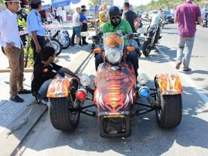 Những mô tô siêu độc, siêu đắt tại đại hội Đà Nẵng