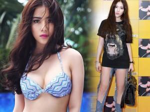 Hot girl Milan Phạm nghĩ gì khi mặc jeans siêu rách?