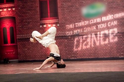 Vũ công 1 tay gây bất ngờ tại Thử thách cùng bước nhảy 2015 - 9