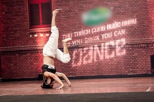 Vũ công 1 tay gây bất ngờ tại Thử thách cùng bước nhảy 2015 - 8
