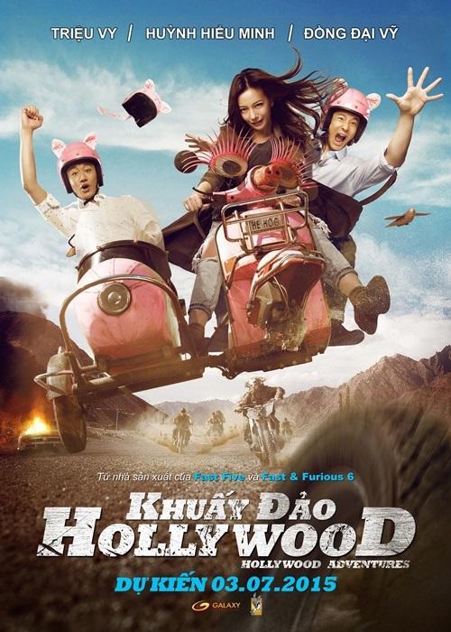 """Clip Triệu Vy """"rủ rê"""" khán giả Việt - 1"""