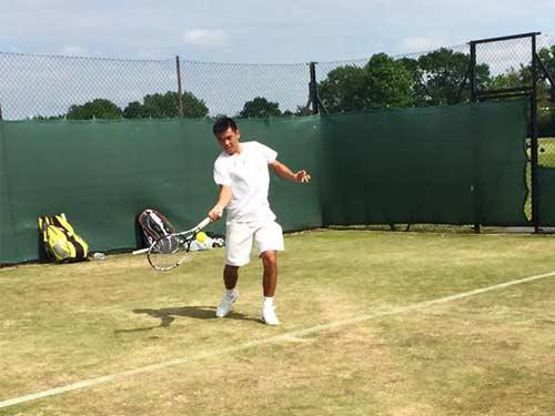 Wimbledon trẻ: Hoàng Nam đụng đối thủ mạnh châu Á - 1