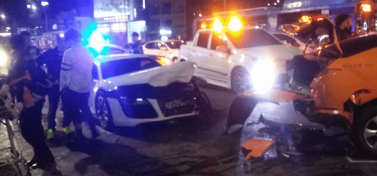 Ngủ gật khi lái xe, nữ ca sỹ Hàn gây tai nạn nghiêm trọng - 3
