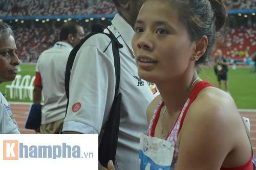 """""""Cô gái vàng"""" điền kinh VN hướng tới Olympic 2016 - 1"""