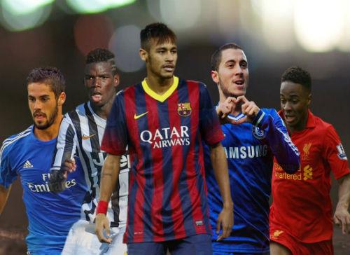 Định giá: Messi thống trị, Hazard vượt mặt CR7 - 2