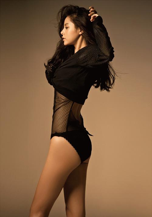Vẻ nóng bỏng của bạn gái mỹ nam hot nhất nhì Hàn Quốc - 8