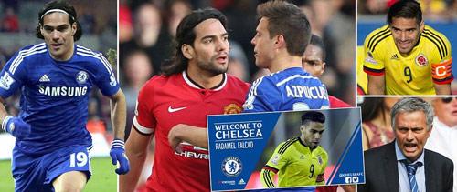 Chelsea CHÍNH THỨC chiêu mộ Falcao - 1