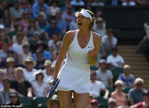 Sharapova - Begu: Tận dụng cơ hội (V3 Wimbledon) - 1