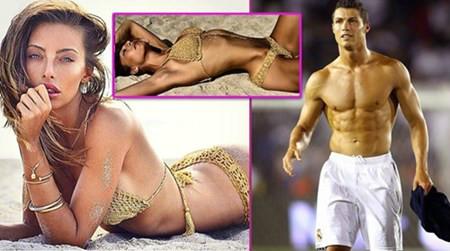 """Siêu mẫu ỡm ờ kể chuyện """"lên giường"""" với Ronaldo - 1"""
