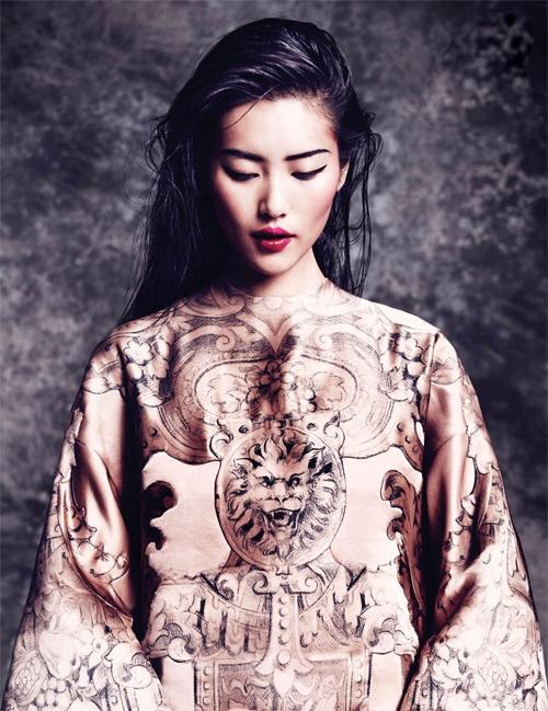 Liu Wen: Từ gái quê đến siêu mẫu triệu phú - 2