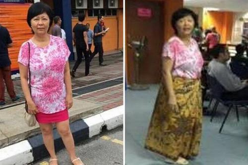 Hàng loạt phụ nữ Malaysia bị xua đuổi vì mặc váy ngắn - 4