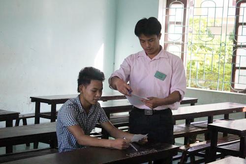 Nghệ An: 60 cán bộ, nhân viên phục vụ 1 thí sinh thi môn Sử - 1