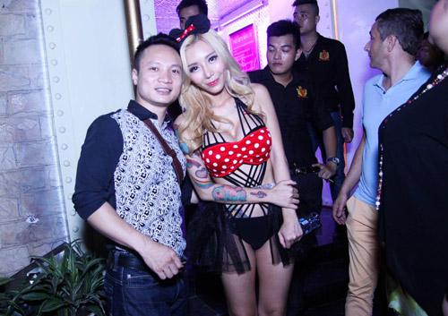 DJ sexy nhất Malaysia nóng bỏng ở Hà Nội - 7