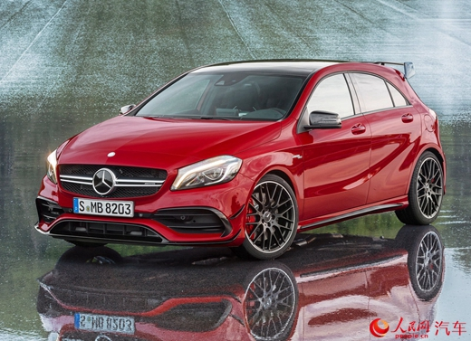 Mercedes-Benz A45 AMG chính thức phát hành - 1