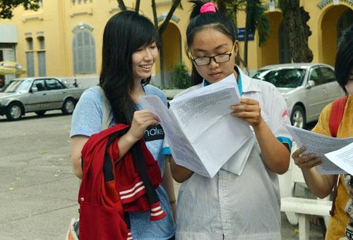 Nhiều thí sinh thất vọng sau buổi thi môn Sinh - 5