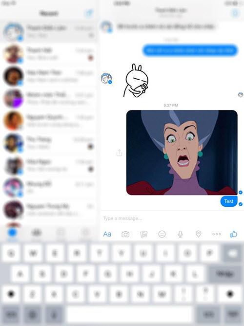 Gửi ảnh động bằng Facebook Messenger - 2